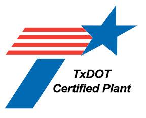 TxDOT Certified Plant