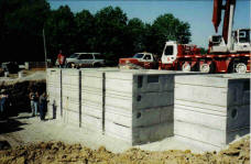 commercial wastewater SI Precast Concrete