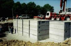 commercial wastewater SI Precast Concrete