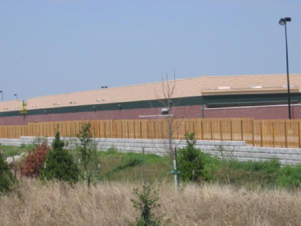 Wal-Mart Retaining Wall