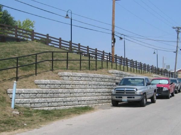 Raytown Road Retaining Wall