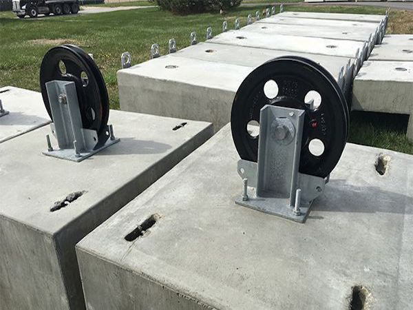 Custom Precast Counter Weights