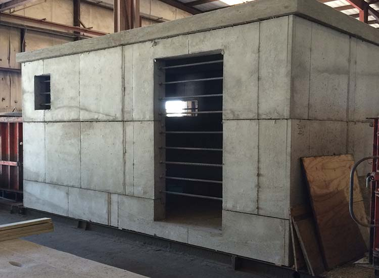 Missile Proof Shelter for military training