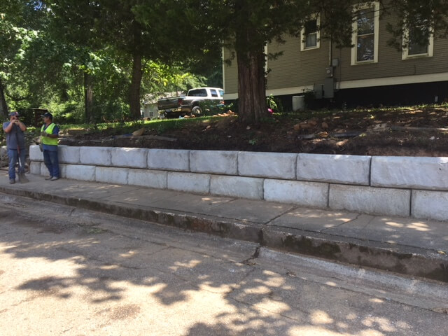 Cast in Place Wall Replacement – City of Marshall