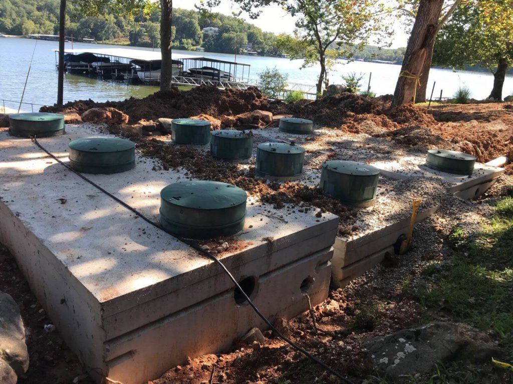 Delta ECOPOD Wastewater Treatment System at Lake of the Ozarks