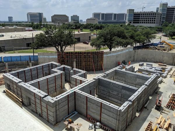 UTSW Hospital Construction Project In Dallas
