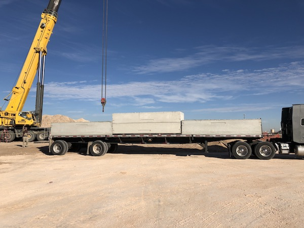 Supplying 5 6000 Gallon Tanks for a Pilot Truck Stop in Pyote Texas