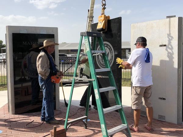 Custom Project for La Vernia Historical Association's Veterans Memorial